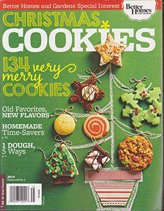 Better Homes and Gardens Magazine Christmas Cookies 2014: Various: Amazon.com: Books