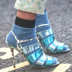 Street Style at Fall 2013 London Fashion Week - LFW Street Style Pictures - Marie Claire