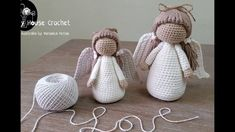 Angel Crochet Pattern - YouTube