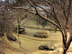 Edmonton, Alberta Nov.7th/12  31cm of snow. 200 collisions 1 death. Horrible storm.