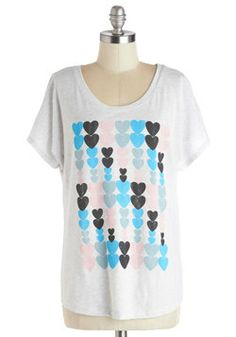 Connect Amour Tee, #ModCloth ________________________ Graphic tees are my guilty pleasure XD