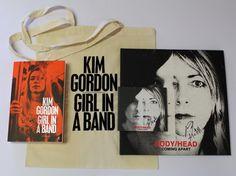 Kim Gordon 'Girl in a Band' memoir, added to the reading list.