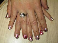 Poka Spot nails!    Nail Polish = Nail Art!