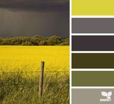 Grau/Grün/Gelb alles in erdigen Nuancen-siehe Bildinspiration