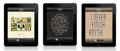 free typographic wallpapers