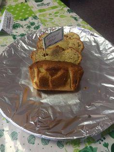 Homemade banana cake for our Macmillan coffee morning 2015