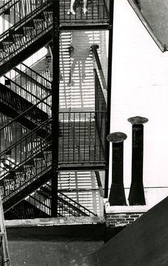 Andre Kertesz - Chimneys, Figure, Stacks and Firescapes, 1969