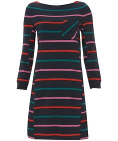 Navy Multi Stripe Shift Dress, Marc by Marc Jacobs. Shop the latest Marc by Marc Jacobs collection at Liberty.co.uk