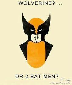 #wolverine or two #badmen ;)