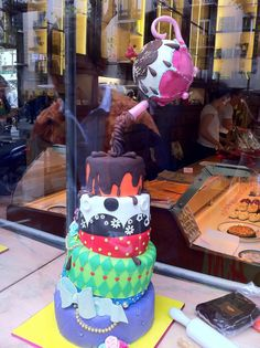 How about this for a cake!! :) Barcelona