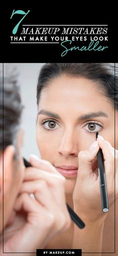 Eye makeup can either work for you or against you. These 7 makeup mistakes are keeping your eyes from looking BIG and bright!