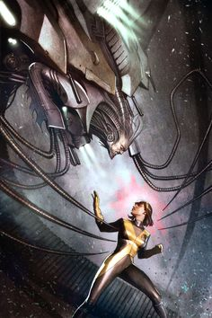 Cover for X-Men: Legacy #235 by Adi Granov