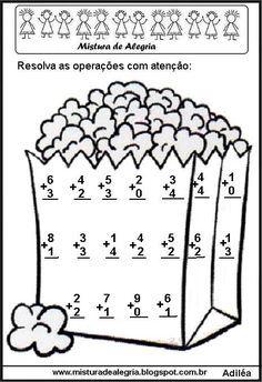 Daniele Ribeiro's media statistics and analytics Mental Maths Worksheets, 1st Grade Worksheets, School Worksheets, First Grade Math, Preschool Learning Activities, Preschool Math, Math For Kids, Fun Math, Nursery Worksheets