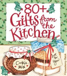 Share Your Gifts from the Kitchen! Recipe Round-Up including over 80 Gifts from the Kitchen, perfect for the holidays! Jar Gifts, Food Gifts, Craft Gifts, Gift Jars, Candy Gifts, Christmas Goodies, All Things Christmas, Christmas Holidays, Homemade Christmas