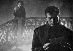 Clara Calamai and Marcello Mastroianni in White Nights. Luchino Visconti.