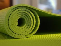 Your yoga space and tips to organize, stabilize, and decorate it.