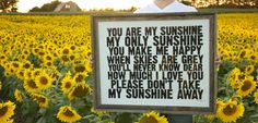 You Are My Sunshine - hand pulled screen print Poster - 22x28- The first song my boys learned, another photo on my photo collage wall 1/2 blackboard wall.  #yolocolorhouse; #Roomandboard; #Annies