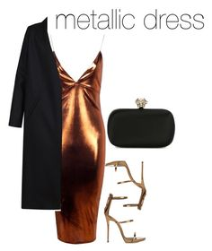 """""""Untitled #4"""" by acholemgift ❤ liked on Polyvore featuring Boohoo, Non, Giuseppe Zanotti and Alexander McQueen"""