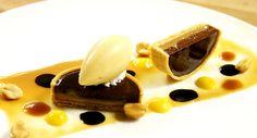 CHOCOLATE DULCE DE LECHE TART, DULCE DE LECHE ICE CREAM | | Antonio Bachour via Flkr