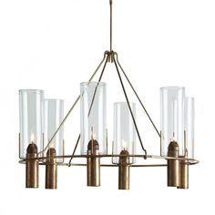 Buy Oliver Chandelier - 5076 by Robert Long Lighting - Limited Edition designer Chandeliers from Dering Hall's collection of  Lighting.