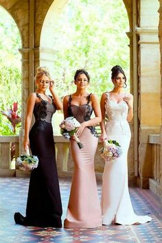 Mermaid Bridesmaid Dresses, Bridesmaid Dress Styles, Bridesmaids, Bridesmaid Outfit, Bridesmaid Ideas, Cheap Wedding Guest Dresses, Wedding Gowns, Wedding Tips, Glamour