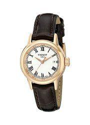 e4a3ac14da0f Tissot Women s T0852103601300 Analog Display Swiss Quartz Brown Watch