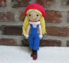 WINTER GIRL Amigurumi Pattern Crochet Doll Pattern