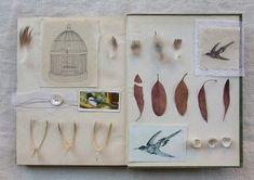 "cotland-based artist fiona watson, from her series called ""an unwritten book"""