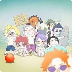 Akatsuki 😂😂😂 Itachi is so kawaii~~~ 😭 Naruto Kakashi, Naruto Shippuden Sasuke, Anime Naruto, Naruto Akatsuki Funny, Pain Naruto, Naruto Cute, Otaku Anime, Sasunaru, Naruto Wallpaper