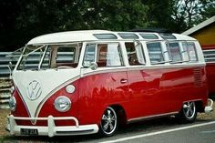 Classic VW window microbus