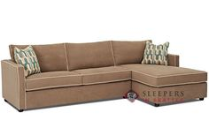 Savvy Portland Chaise Sectional Sleeper Sofa (Full) - Sleepers In Seattle