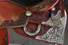www.facebook.com/csreiningauthority Check their Facebook page to see more saddles!