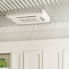 Ductless HVAC: a mini-split system (by Fujitsu; fujitsugeneral.com) has small ceiling vent units in every room connected to the outdoor unit by tubing and wires instead of space-hogging ducts. Cost same to install, but energy bills are 30% less.