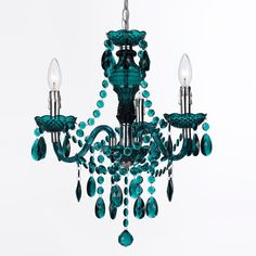 Jewel Tones Mini Chandelier
