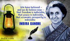 10 Interesting facts about Indira Gandhi