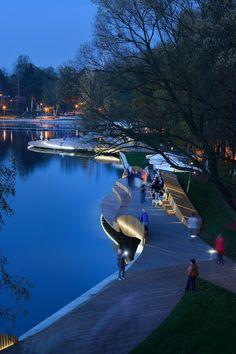 Reurbanización Orilla del Lago Paprocany / RS+ | Plataforma Arquitectura