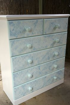Chest of Drawers Makeover Tutorial - Explore the world with Edmim