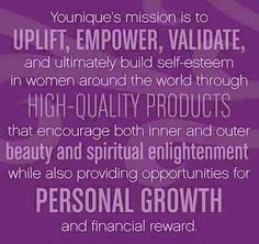 Younique mission www.youniquelybeautifulbybrittany.com