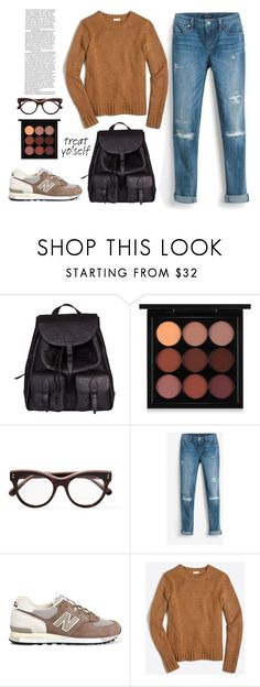 """""""It's Time to Treat Yo'Self!"""" by vale14m ❤ liked on Polyvore featuring Yves Saint Laurent, MAC Cosmetics, STELLA McCARTNEY, White House Black Market, New Balance, J.Crew and treatyoself"""