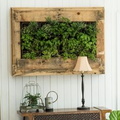 Make this easy herb wall planter inspired by Williams-Sonoma
