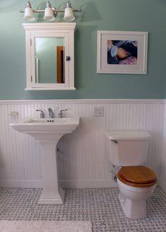 Pryor Craftsman inc: Victorian Bathroom