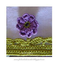 Flor remate Crochet con tutorial  ❥Teresa Restegui http://www.pinterest.com/teretegui/ ❥