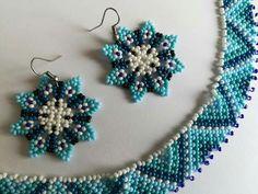 Beaded Earrings, Beaded Bracelets, Stud Earrings, Loom Beading, Beading Patterns, Fabric Origami, Mexican Designs, Native American Beadwork, Jewelry Making