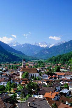 Mittenwald, a German municipality in the district of Garmisch-Partenkirchen, in Bavaria.