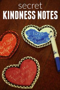 Toddler Approved!: Secret Kindness Notes