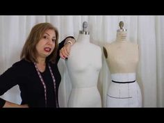 Re-Size Your Dress Form to Your Measurements - YouTube
