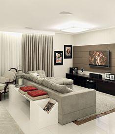 Sofá con aparador: delimita espacios, almacena y decora #hogarhabitissimo #sofá