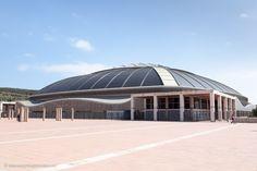 #Palau #Sant #Jordi (http://www.everythingbarcelona.net/sehenswuerdigkeiten/der-olympische-ring-am-berg-montjuic/)