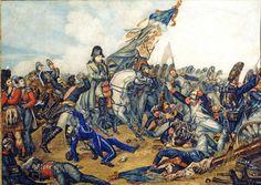 Napoléon 1er  à la bataille de Waterloo, le 18 juin 1815 - Steuben