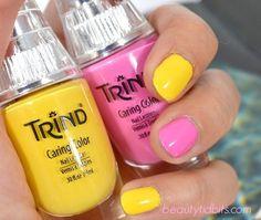 Trind Burst my Bubble and Mellow Yellow via @BeautyTidbits
